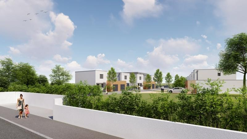 PAU PÉBOUÉ, A VENDRE, Commercialisation, maison 3 chambres avec garage et jardin, Agence immobilière Libre-Immo dans la région Pyrénées-Atlantiques à Nay et Pau