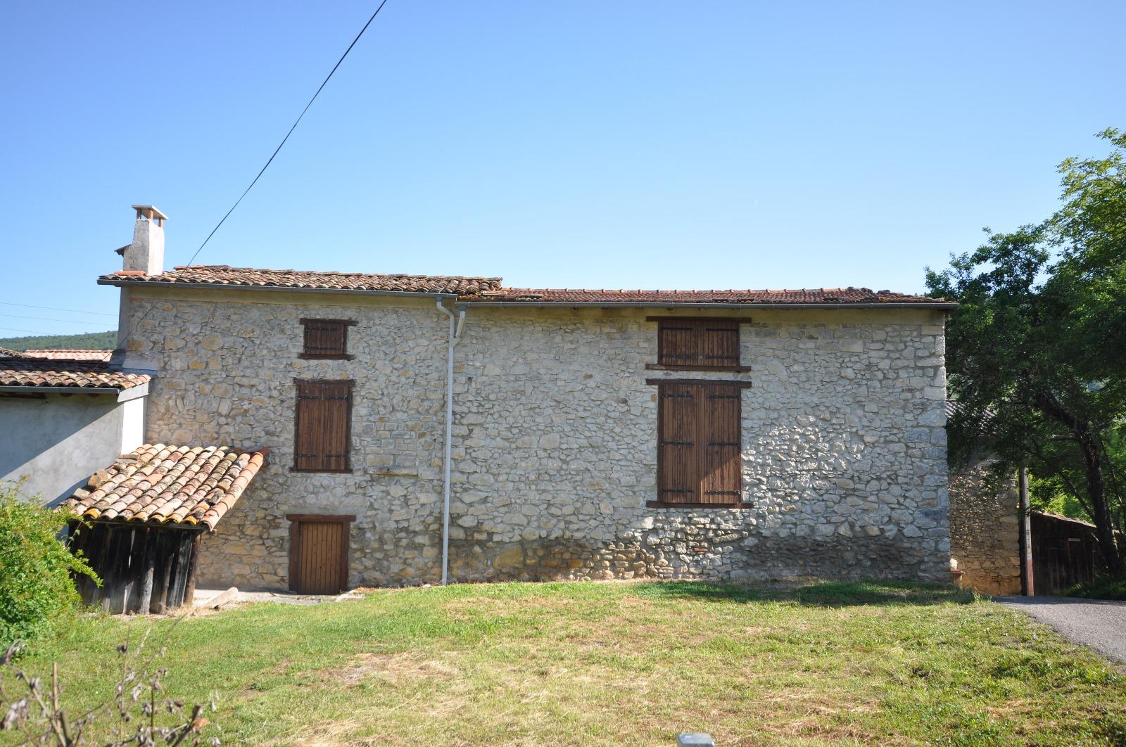 Belesta belle grange r habiliter avec un terrain de 2000m constructible - Rehabiliter une grange ...