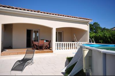 Belle villa de plain-pied sur 1000 m� de terrain, Agence Immobilière UnChezVous, dans les départements de l'Ariège et de l'Aude