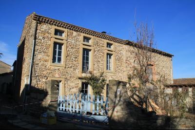 Charmante maison en pierres apparentes, Agence Immobilière UnChezVous, dans les départements de l'Ariège et de l'Aude