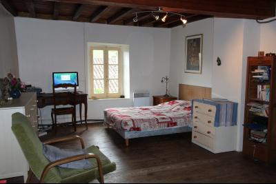 Vue: Chambre, Maison de moyenne montagne proche de Foix, pleine de charme