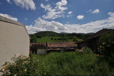 Vue: vue du jardin, Maison de moyenne montagne proche de Foix, pleine de charme