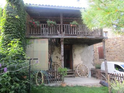 A NALZEN, maison de village avec terrain, Agence Immobilière UnChezVous, dans les départements de l'Ariège et de l'Aude