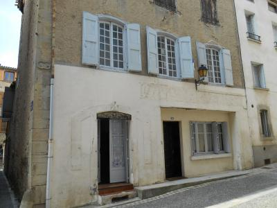 Chalabre, maison en centre ville � vendre., Agence Immobilière UnChezVous, dans les départements de l'Ariège et de l'Aude