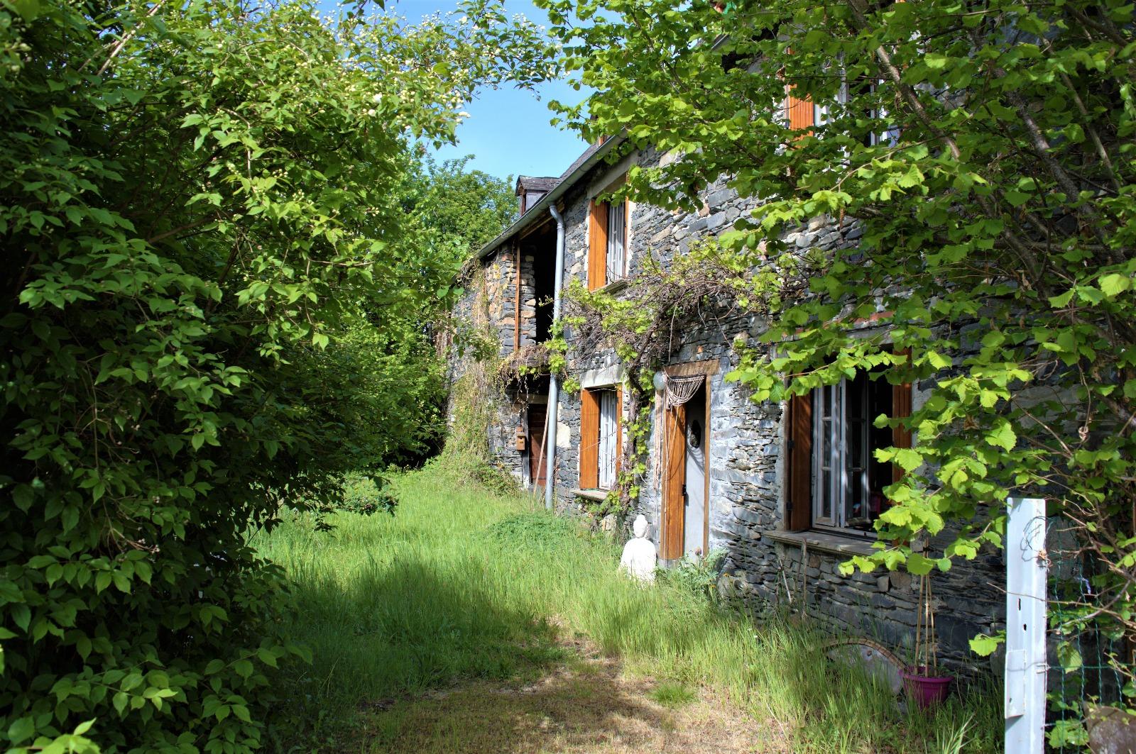 Maison avec grange et jardin ma maison - Maison moderne avec jardin saint paul ...