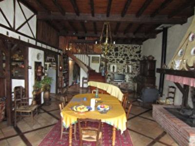 Vue: grande pi�ce de vie , Maison Saint Girons, proche centre ville