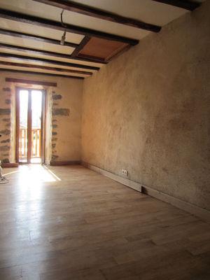 Vue: chambre, Maison r�nov�e avec jardin Saint-Girons