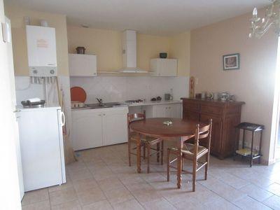 Vue: salon s�jour cuisine, Saint-Girons, Appartement  3 pi�ce(s)