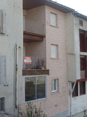Vue: vue de dos, Saint-Girons, Appartement  3 pi�ce(s)