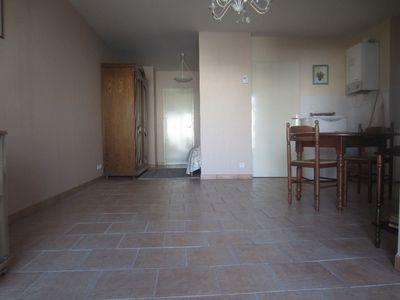 Vue: salon - s�jour, Saint-Girons, Appartement  3 pi�ce(s)