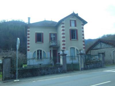 Vue: maison de face, MAISON ATYPIQUE CASTELNAU DURBAN
