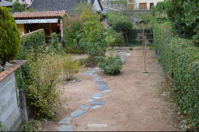 Vue: jardin, CENTRE VILLE DE SEIX