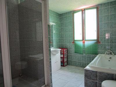Vue: salle de bain , MAISON RECENTE PLAIN PIED, 5 MINUTES ST GIRONS