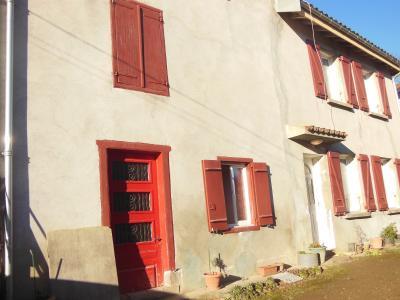 Vue: les 2 maisons , MAISON DE CAMPAGNE A RIMONT