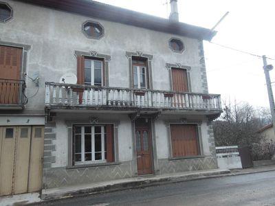 Vue: maison avec garage en L, GRANDE MAISON