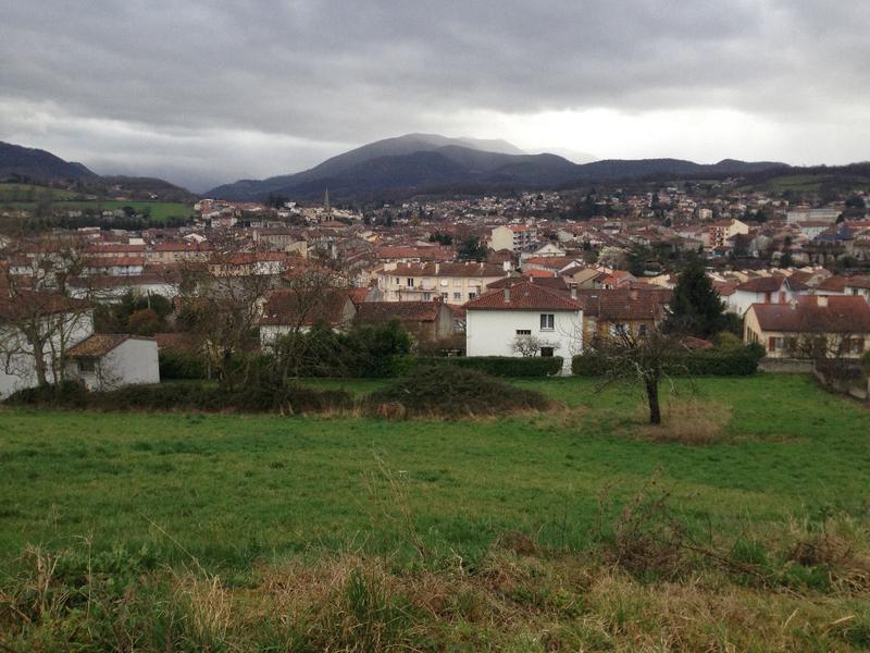 Terrain Saint Girons 2400 m2