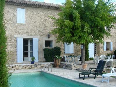 Location de vacances à Cabrières, dans le luberon, 3 chambres et piscine CABRIERES D'AVIGNON