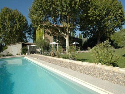 Location Saisonnière à Caumont sur Durance, 6 chambres, piscine Caumont Sur Durance