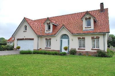 Maison 5 pièce(s)  de 180 m² env. , Agence Immobilière Abri-mer, dans le département du Pas-de-Calais