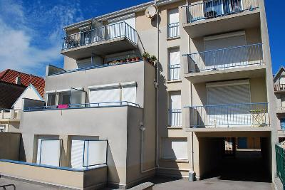 MERLIMONT PROX PLAGE APPARTEMENT 1 CHAMBRE CABINE