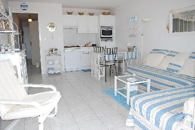 APPARTEMENT MERLIMONT FACE MER 1 CHAMBRE