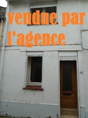 Maison 4 pièce(s)  de 55 m² env. , Agence Immobilière Abri-mer, dans le département du Pas-de-Calais