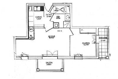 Appartement 2 pièce(s)  de 40 m² env. , Agence Immobilière Abri-mer, dans le département du Pas-de-Calais