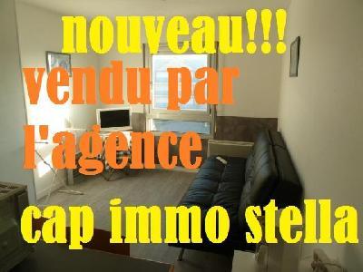 Appartement 1 pièce(s)  de 28 m² env. , Agence Immobilière Abri-mer, dans le département du Pas-de-Calais