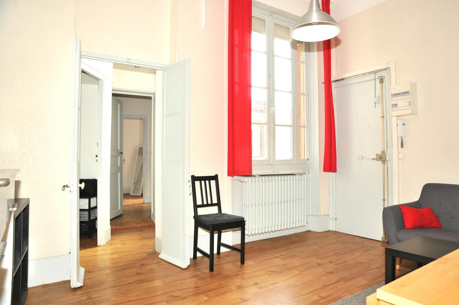 wilson jean jaures t3 meubl sur cour de 57m cogimmo toulouse. Black Bedroom Furniture Sets. Home Design Ideas