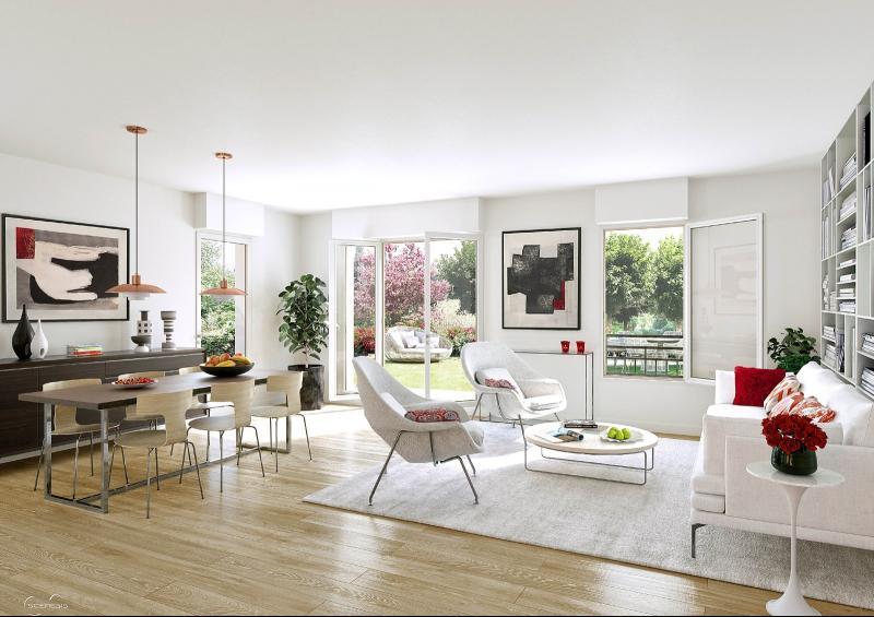 SAINT EXUPERY : T4 en dernier étage d'une résidence neuve avec Terrasse et 2 Parkings TOULOUSE