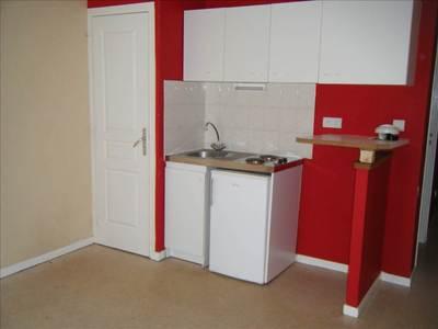 Location studio de 24 m² - idéalement situé