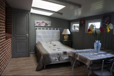 Campagne de WATTEN - Maison en SEMI PLAIN - PIED avec GITE 2 chambres