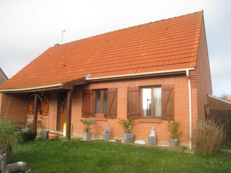 Plain Pied 3 chambres et véranda - garage porte motorisée