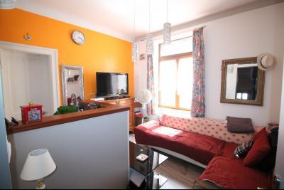 Vente BOULOGNE SUR MER proche gare SNCF, Appartement de 40 m², 2 chambres Cellier et cave