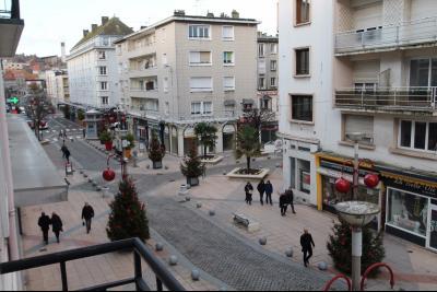 Boulogne hyper centre, appartement de 95 m2 en résidence avec ascenseur, 2 chambres