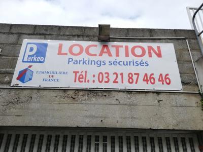 parking dans garage -  BOULOGNE SUR MER - 12 m²