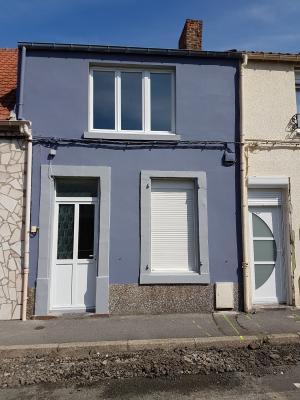 Location BOULOGNE SUR MER, Maison de ville 70 m² - 3 pièces