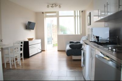 Location BOULOGNE SUR MER, studio meublé 23 m2 avec terrasse  et wifi