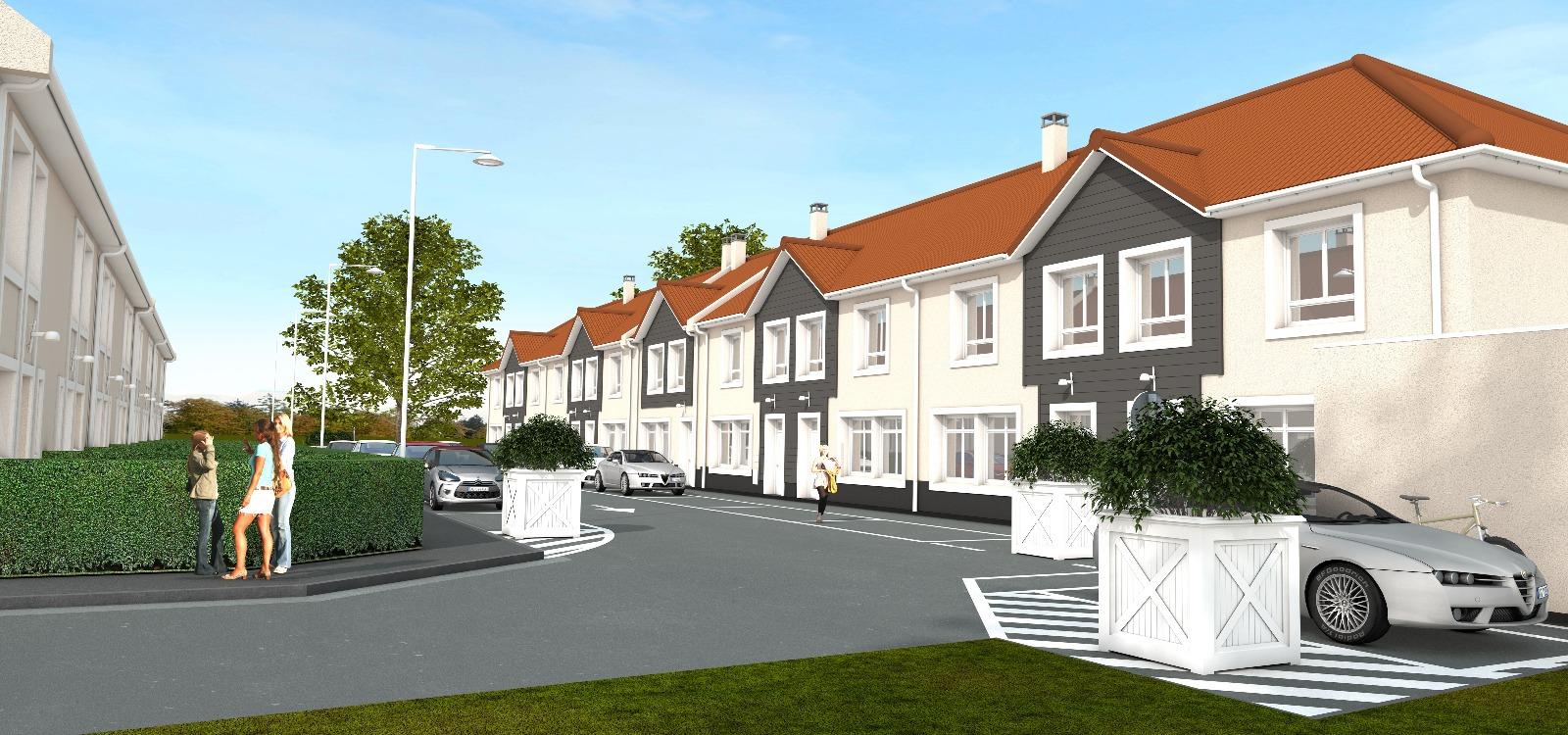 Programme neuf maison 90m2 3 chambres jardin immobili re for Jardin 90m2