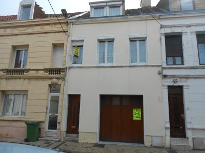 CALAIS CENTRE, Maison de ville 88 m² - 5 pièces