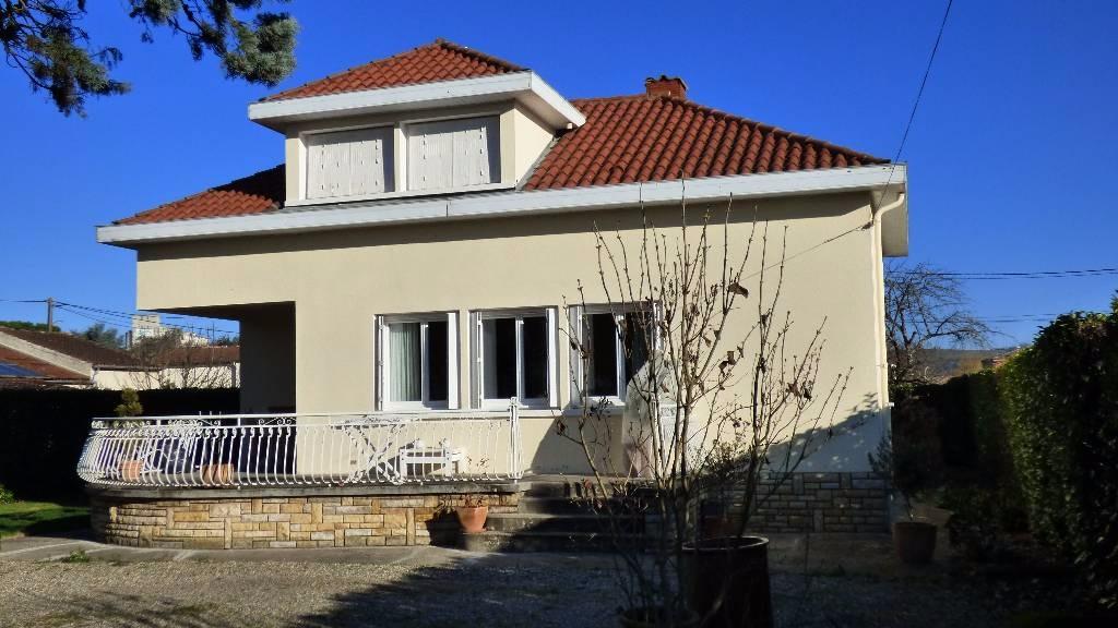 Valence belle maison sur grand jardin avec piscine amp immo for Piscine jardin valence