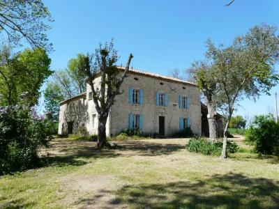 Maison en pierre � finir de restaurer secteur Astaffort, Agence Immobilière UnChezVous, dans les départements de l'Ariège et de l'Aude