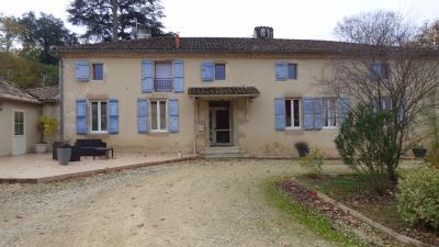 Belle maison gersoise sur parc d'un hectare., Agence Immobilière AMP dans le département du Lot et Garonne (Agen)