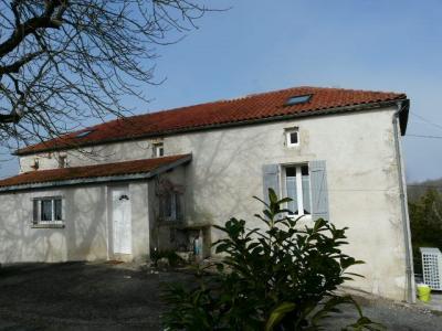 Secteur LAROQUE TIMBAUT MAISON PIERRE 2ha80, Agence Immobilière UnChezVous, dans les départements de l'Ariège et de l'Aude