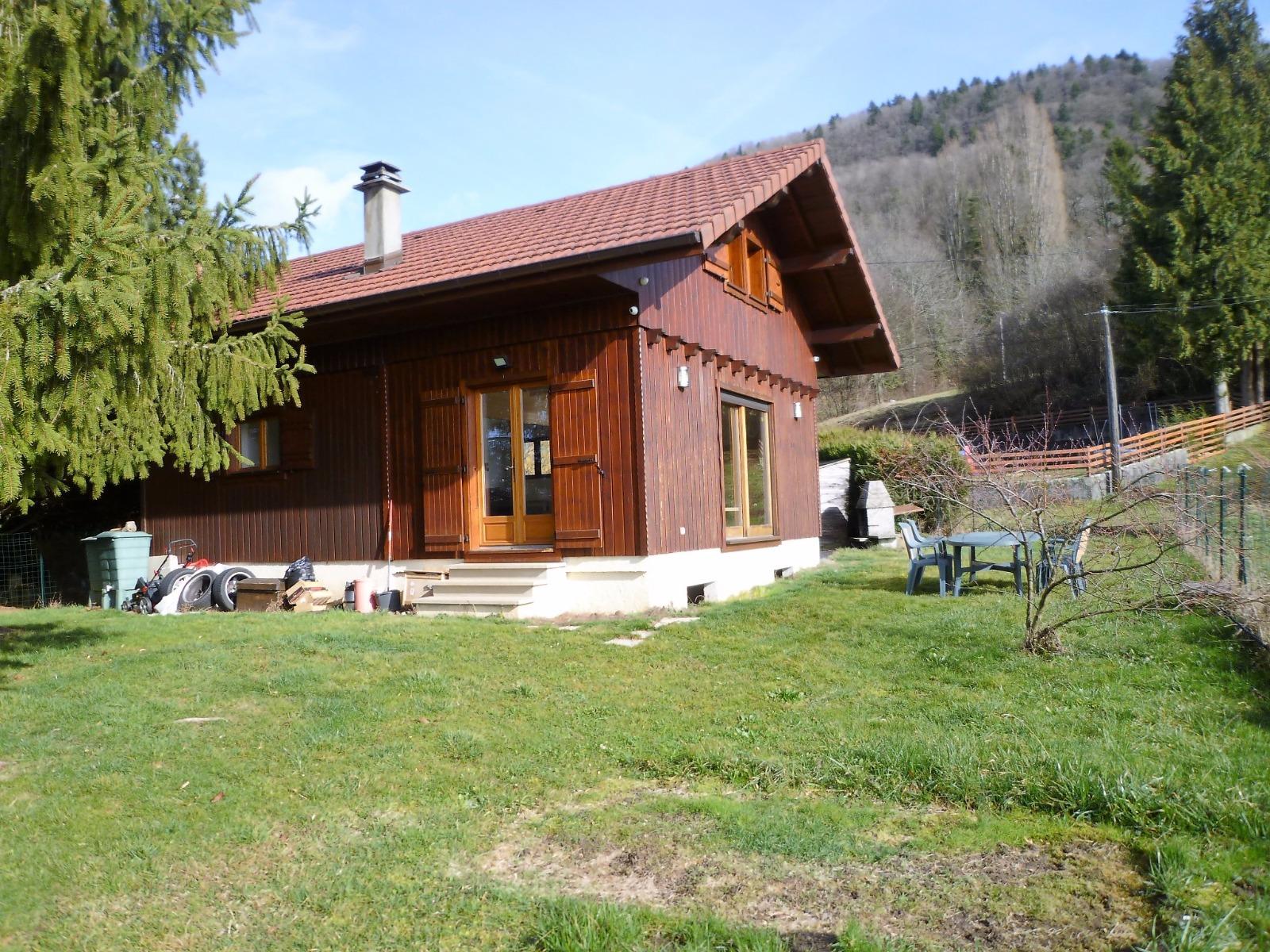 Chalet vendre saint cergues sur 600m de terrain mab immobilier - Chalet de jardin occasion a vendre ...