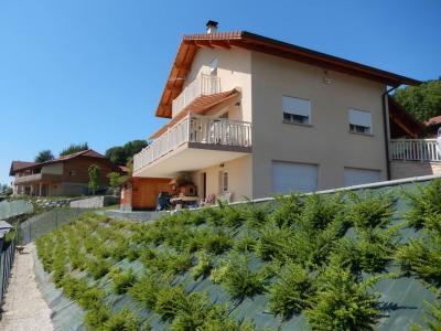 Vue: Maison Fillinges façade terrain, Villa récente avec une vue dégagée à vendre à Fillinges