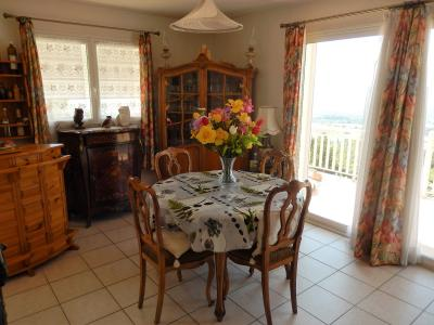 Vue: Maison Fillinges salle à manger, Villa récente avec une vue dégagée à vendre à Fillinges