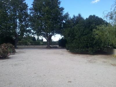 Vue: Propriété à Saint Rémy de Provence cour jardin, Un mas provençal à vendre sur un parc de 3 hectares et demi à Saint Rémy de Provence