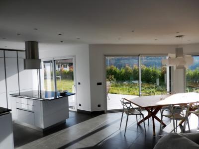 Vue: Maison Juvigny Salon Salle à manger, Villa contemporaine à vendre à Juvigny proche douane