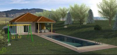Vue: terrain villard, Terrain à vendre à Villard en Vallée Verte